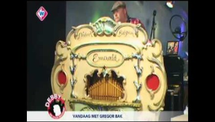 Live TV-Radio West – Handdraaiorgel de Emerald